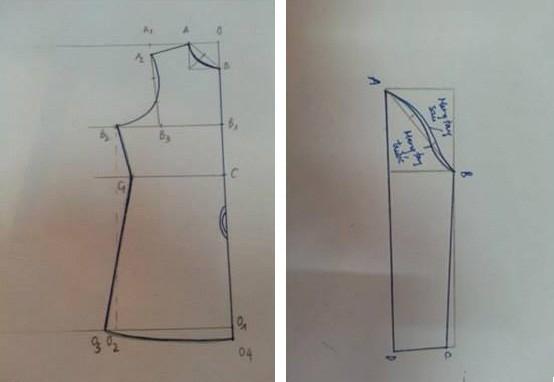 Hướng dẫn cắt may áo cao cổ nữ