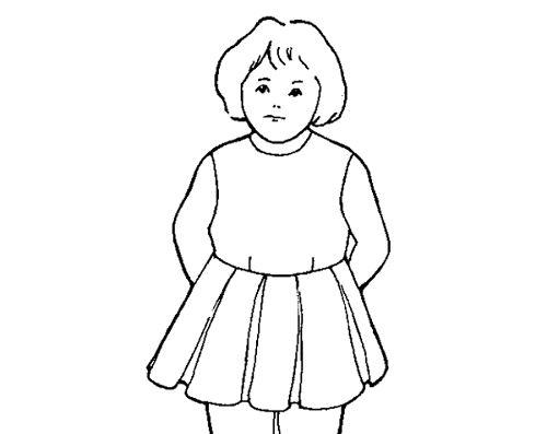 Cắt may áo đầm có đường ráp ngang eo