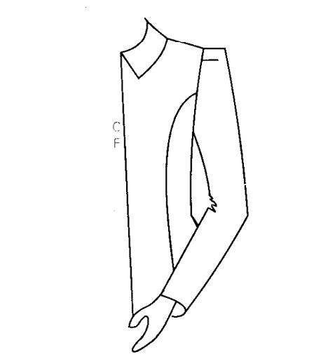 Hướng dẫn cắt may tay áo có độn vai