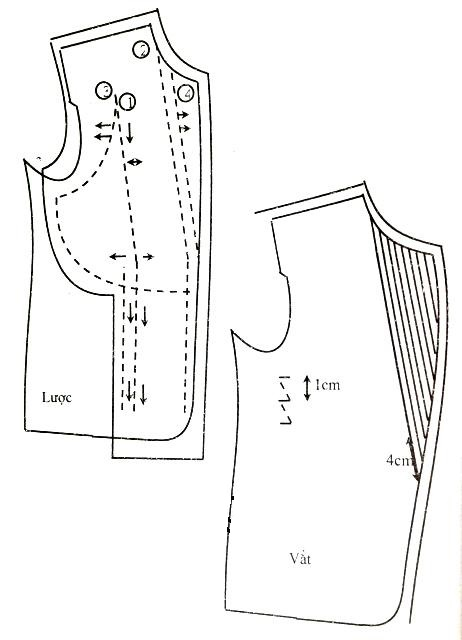 Hướng dẫn may áo vest nam-trải dựng, vắt ve