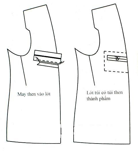 May áo vest nam