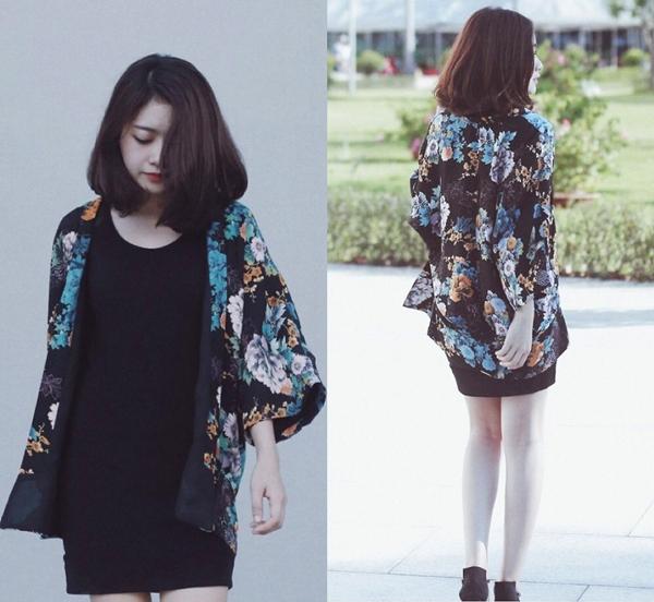 Mẫu căn bản tay áo kimono