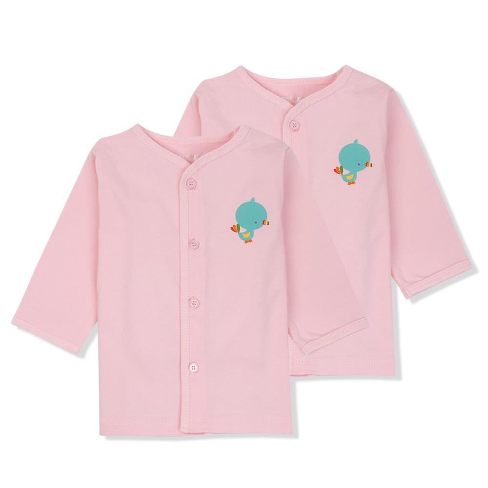 Cắt may áo cài nút giữa cho trẻ sơ sinh