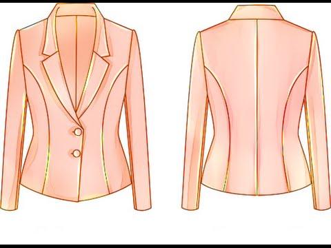 Hướng dẫn cắt may áo vest nữ
