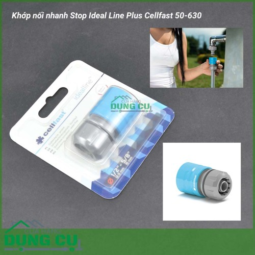 Khớp nối nhanh Ideal Line Plus Cellfast 50-630