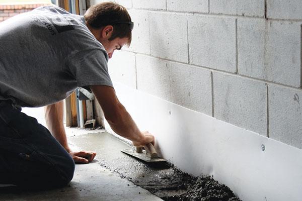 5 bước chống thấm chân tường nhanh chóng hiệu quả
