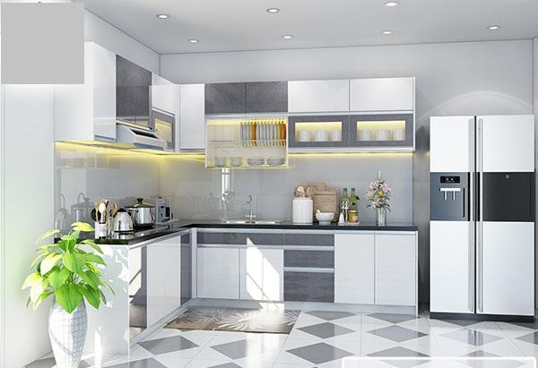 Cách đóng Tủ bếp nhôm kính đơn giản chỉ với 5 bước