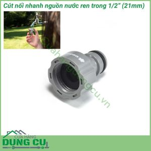 Cút nối ren trong Ideal Line Plus Cellfast 50-650