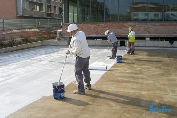 Chống thấm trần nhà bê tông hiệu quả