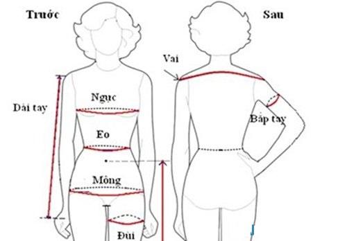 Cách tính vải may quần áo