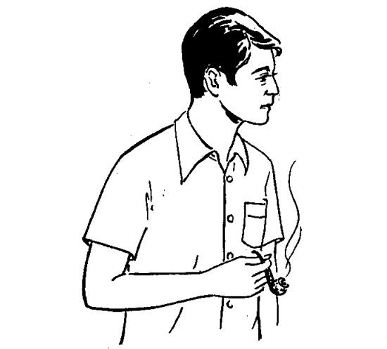 Cắt may áo sơ mi tay ngắn, liền vai, bâu tenant