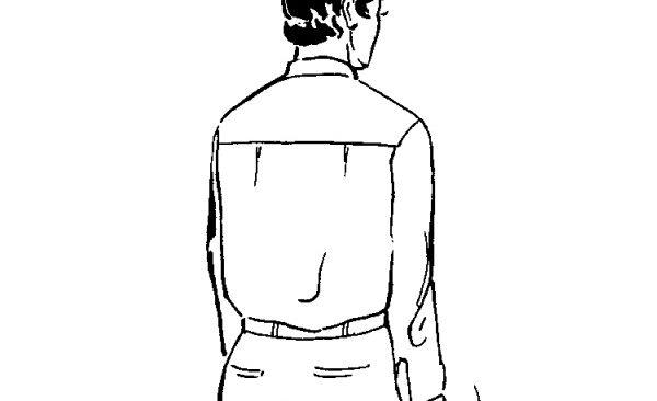 cắt may áo sơ mi vai rời tay manchette