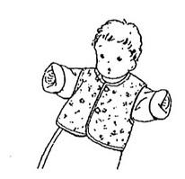 Học cất may áo trấn thủ cho bé