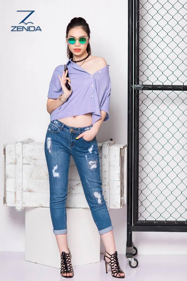 Hướng dẫn cắt may quần jeans