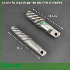 Bộ 2 mũi tháo đầu ống gãy