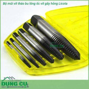 Bộ dụng cụ vít mở bu lông ốc vít hỏng