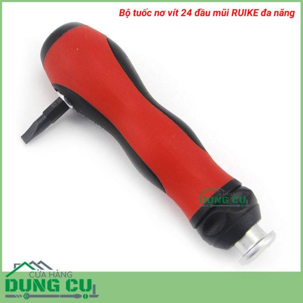 Bộ tuốc nơ vít 24 đầu mũi RUIKE đa năng