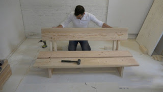 Hướng dẫn làm ghế sofa bằng gỗ vững chãi