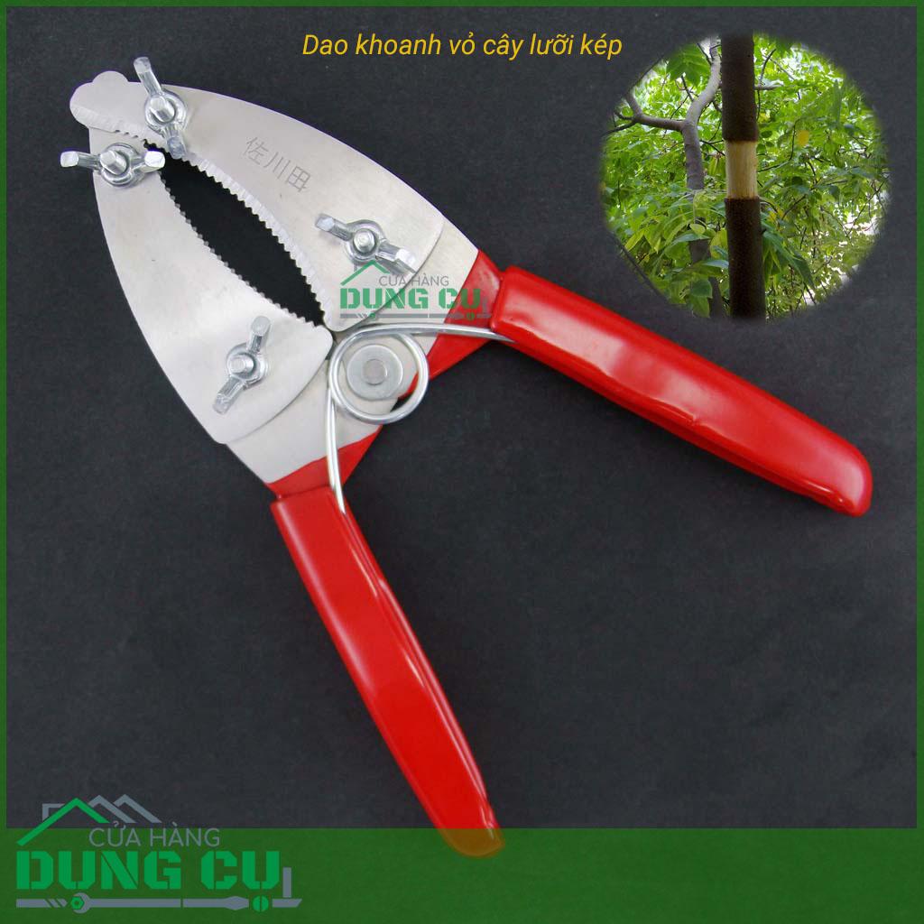 Dao khoanh vỏ chiết cành cây