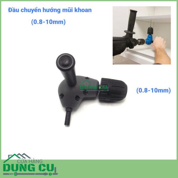 Bộ chuyển hướng mũi khoan bắt vít góc tay vặn 0.8-10mm