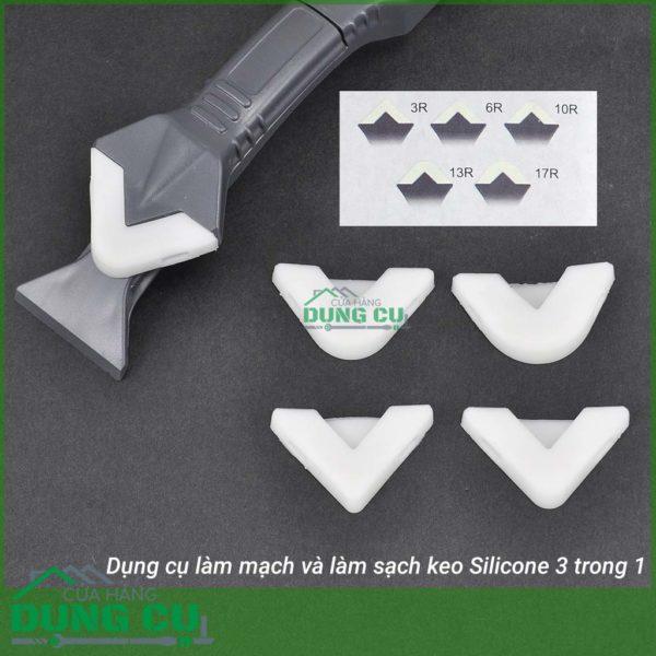 Dụng cụ làm mạch và làm sạch Silicone 3 trong 1
