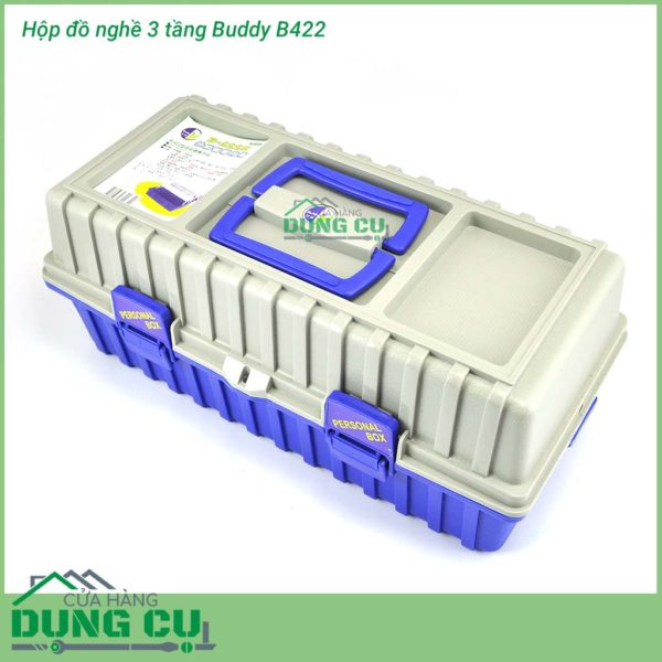 Hộp đồ nghề nhiều ngăn Buddy B-422