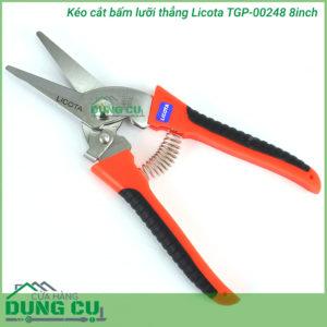 Kéo cắt tỉa và bấm Licota TGP-00248 8inch