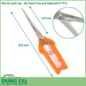 Kéo cắt tỉa cành cây thu hoạch hoa quả P-912
