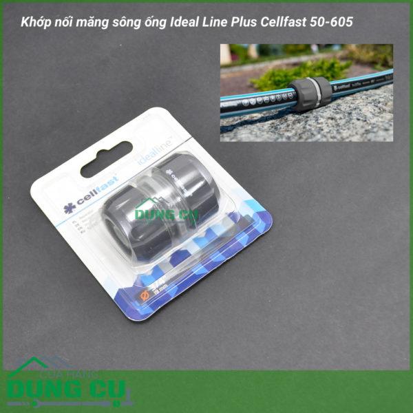 Cút nối măng sông ống Ideal Line Plus Cellfast 50-605