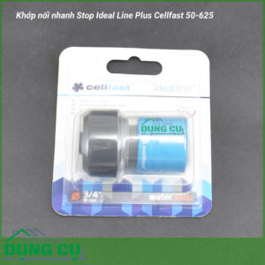 Khớp nối nhanh Stop Ideal Line Plus Cellfast 50-625