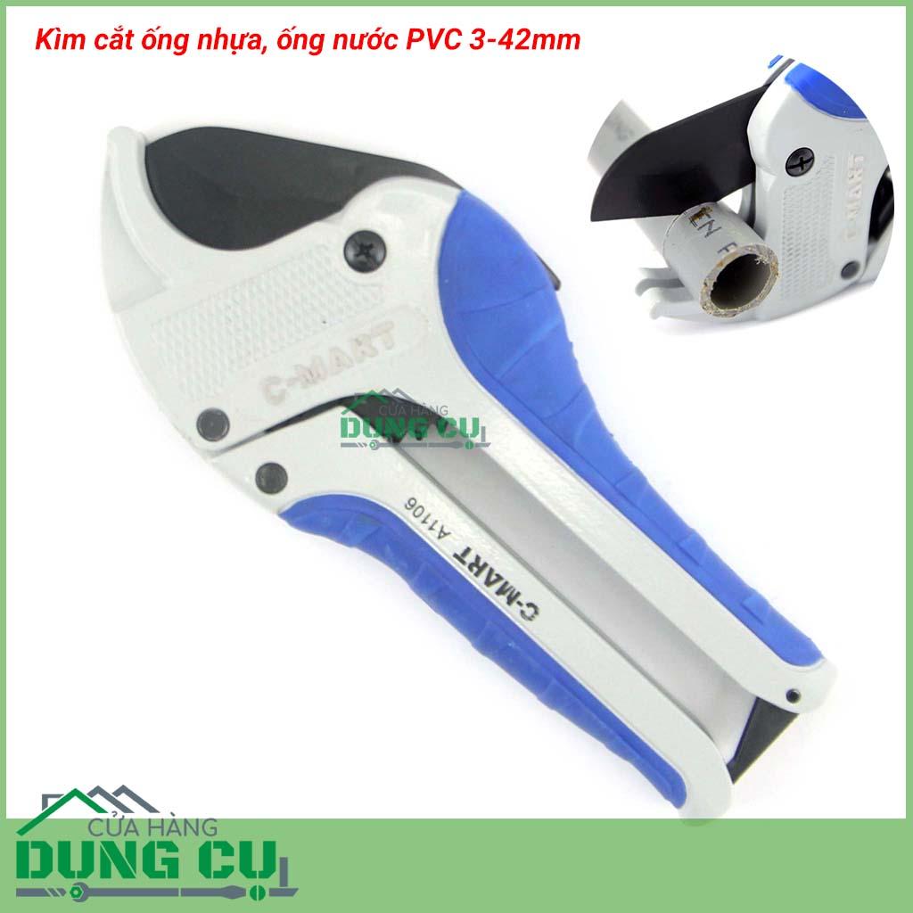 Kìm cắt ống nhựa PVC A1106 C-mart