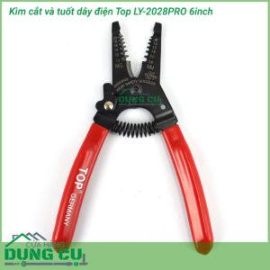Kìm cắt và tuốt dây điện Top LY-2028PRO 6inch