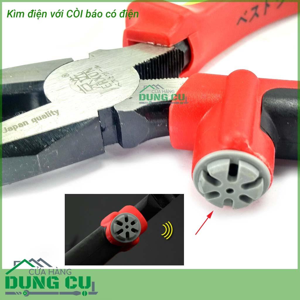Kìm điện cao cấp kèm còi báo điện khi cắt