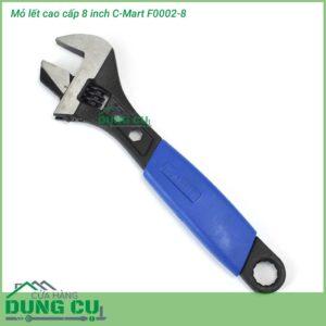 Mỏ lết 8 inch kèm 3 vòng miệng C-mart