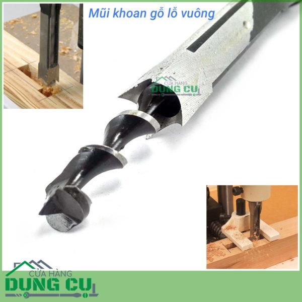 Mũi khoan gỗ đục mộng vuông 5/16inch(7.9mm)