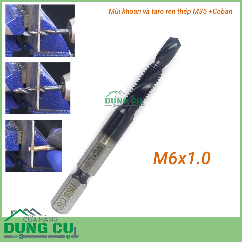 Mũi khoan và taro ren M35Co