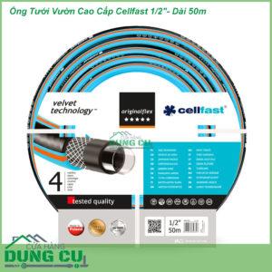 Ống Tưới Vườn Cao Cấp Cellfast ORIGINALFLEX VT VT 1/2″-Dài 50m