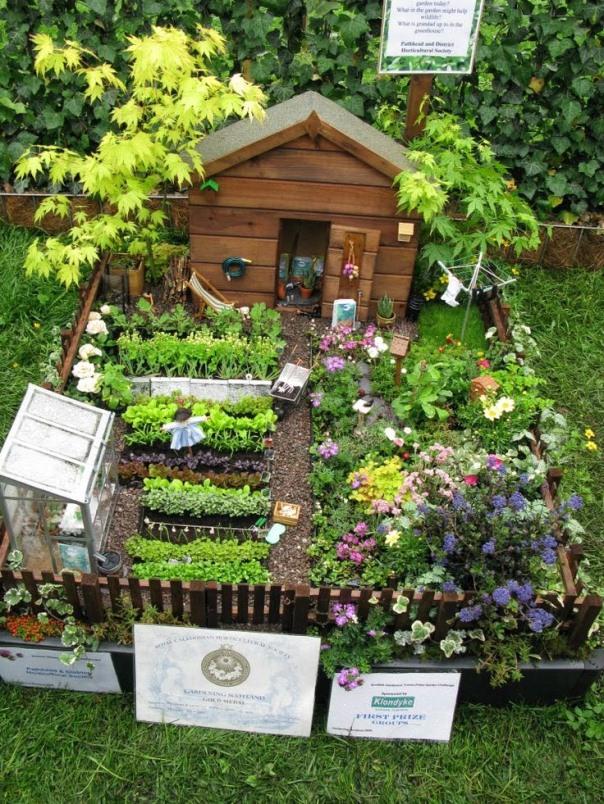 Cách làm khu vườn cổ tích thu nhỏ