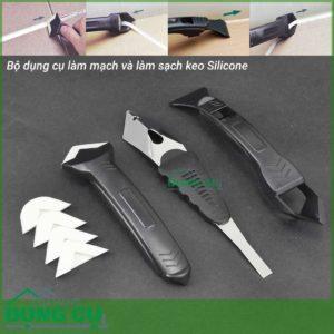 Bộ dụng cụ làm mạch và làm sạch keo Silicone 16042