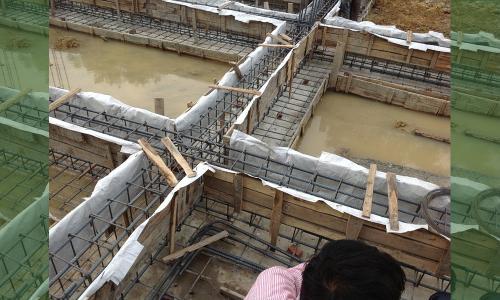 Cách xử lý móng nhà ngập nước