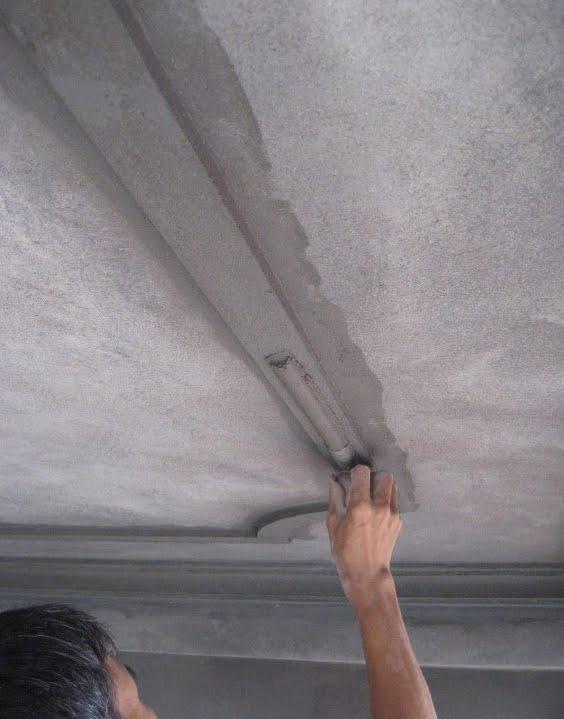 Cách trát trần nhà đúng kỹ thuật