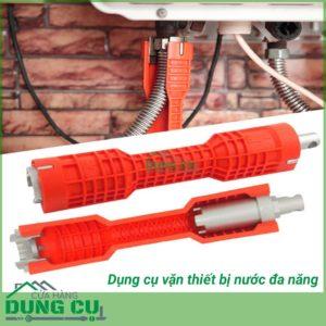 Dụng cụ tháo lắp vòi nước đa năng