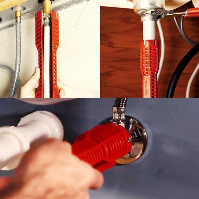 Dụng cụ vặn vòi nước đa năng