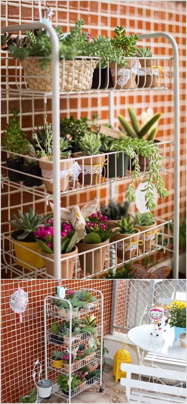 Cách tạo khu vườn ban công