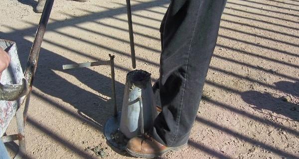 Hướng dẫn kiểm tra độ sụt bê tông