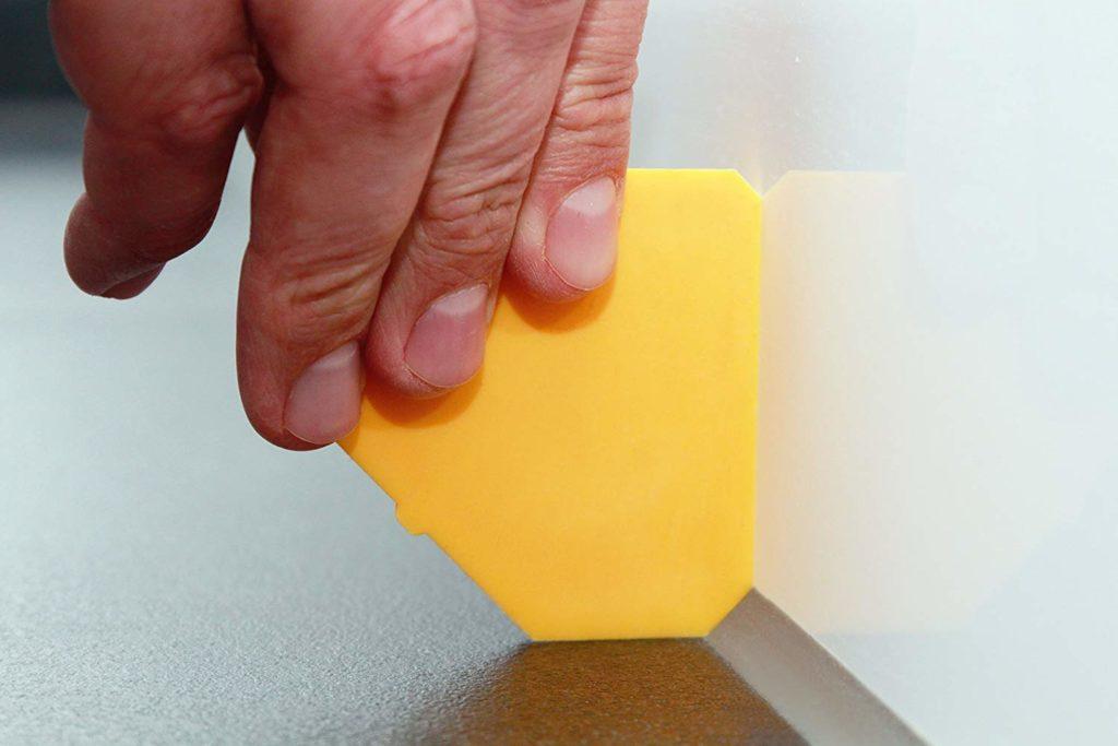 Xử lý mạch keo silicone và làm sạch keo silicone