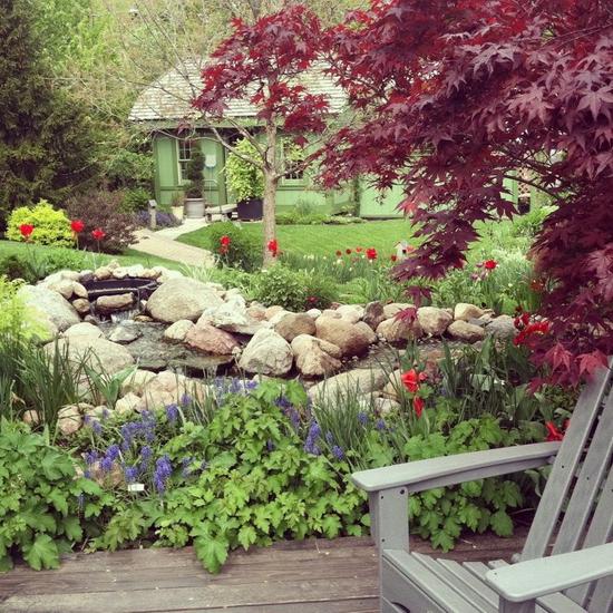 Cách trang trí sân vườn