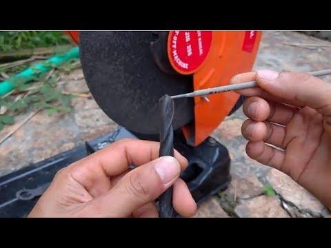 Cách mài mũi khoan đúng kỹ thuật
