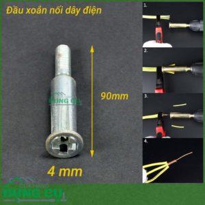 Đầu xoắn nối dây điện 5 lỗ 4mm