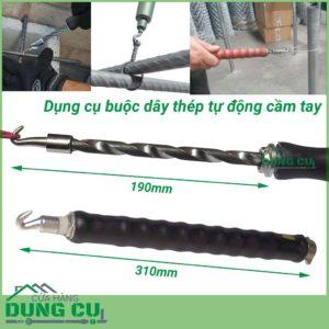 Móc buộc dây thép tự động cầm tay